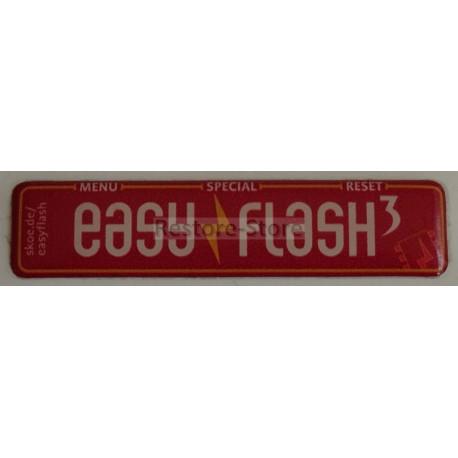 EasyFlash 3 Modulaufkleber 3D - 12 x 52 mm