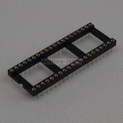 IC-Sockel, 40-polig, gedreht