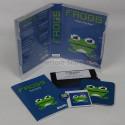 Spiel: FROGS - für 4 Spieler