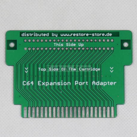 C64 Expansion Port Adapter (by Sven Burger)