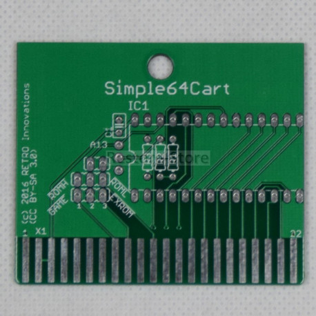 Simple64Cart - 8kB Eprom Karte (by RETRO Innovation)
