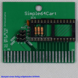 Simple64Cart - 8kB Eprom Karte (by RETRO Innovation)