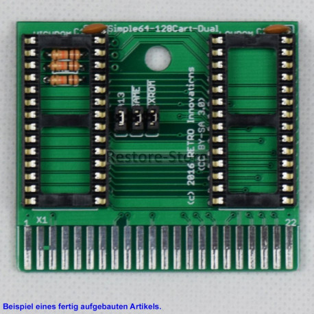 Simple64-128Cart-Dual - 16kB Eprom Karte (by RETRO Innovation)