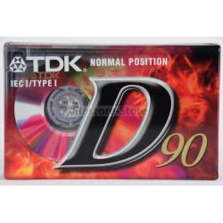 Kompaktkassette TDK D90