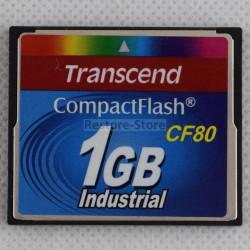 CompactFlash Speicherkarte 1GB - Transcend CF80 Industrial