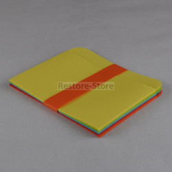 """10x Diskettenhüllen für 5,25"""" Disketten - farbig -"""