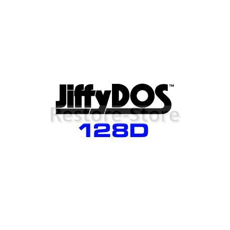 JiffyDOS 128D ROM Overlay Image Set