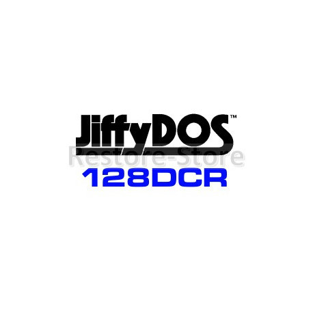 JiffyDOS 128DCR ROM Overlay Image Set