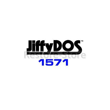 JiffyDOS 1571 DOS ROM Overlay Image