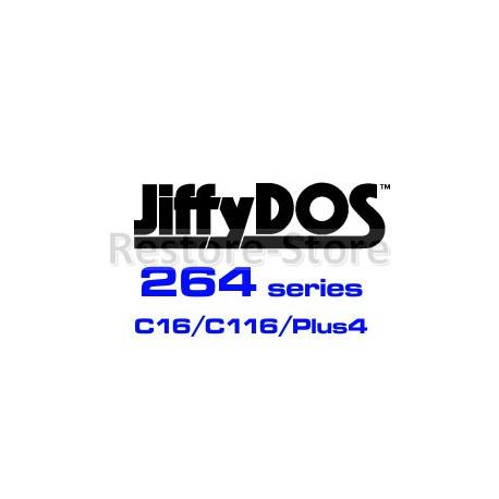 JiffyDOS C16/C116/Plus KERNAL ROM Overlay Image