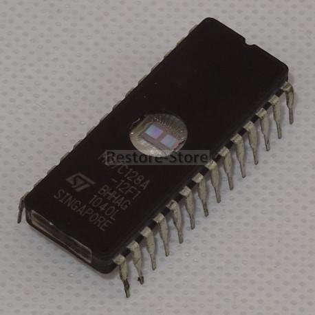 UV Eprom 27C128 - 128 Kilobit (16kb x 8)