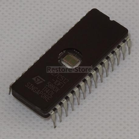 UV Eprom 27C512 - 512 Kilobit (64kb x 8)