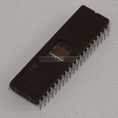 UV Eprom 27C400 - 4 Megabit (512kb x 8 or 256kb x 16)