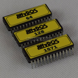 JiffyDOS 128D ROM Set