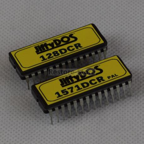 JiffyDOS 128DCR ROM Set