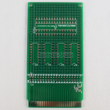 Commodore C16 und Plus/4 Breakout-Board (by cbmhardware) / B-Ware