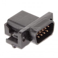 D-Sub 9 polige Stiftleiste - 90° - Kunststoff