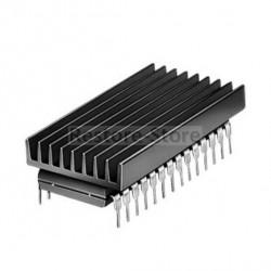 Strangkühlkörper 19 x 4,8 x 33 mm, für DIL - IC